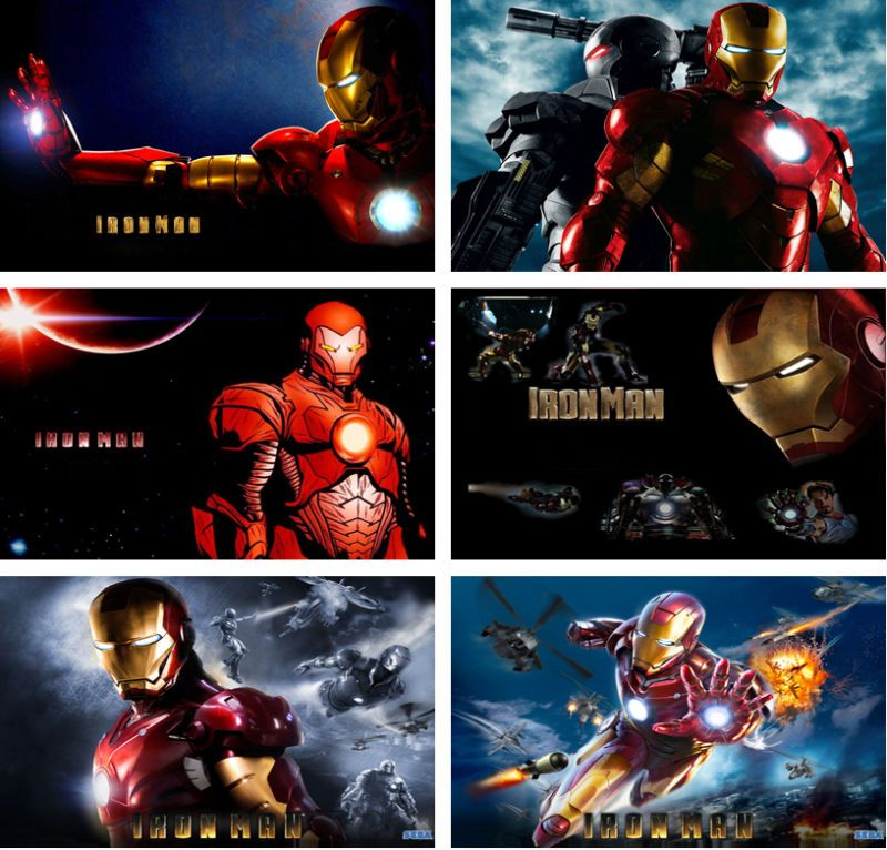 Iron Man Tony Stark Laptop Netbook Skin Cover Sticker